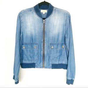 Anthropologie Cloth & Stone Bomber Jacket